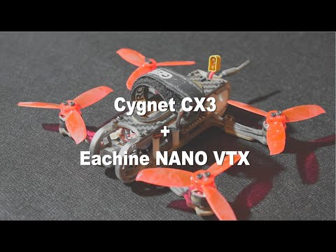 Costruiamo il nostro micro racer: Cygnet CX3 + Mamba F405 + Eachine Nano VTX