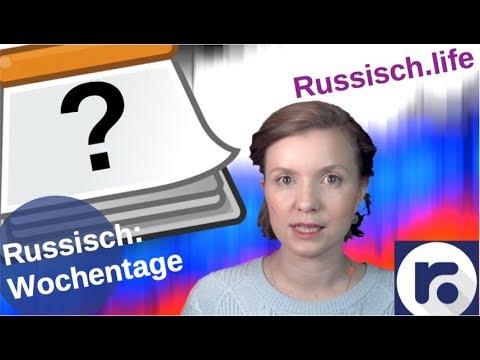 Russisch: Wochentage – schlimme & schöne [Video]