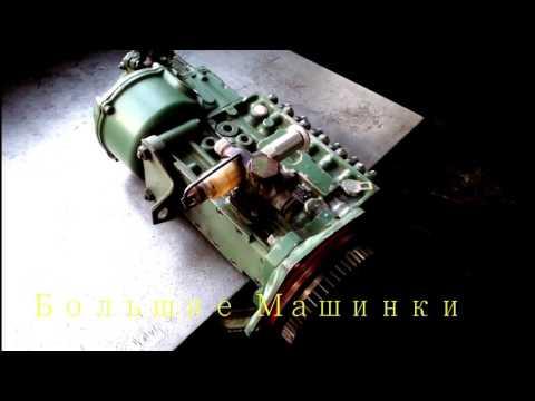 Установка ТНВД двигателя МВ ОМ 447