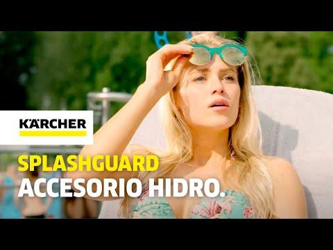 Splashguard, protección contra salpicaduras