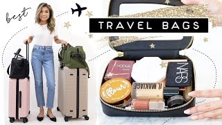 BEST TRAVEL Bags, Backpack & Organizational Items 2019 Haul | How to pack like a pro | Miss Louie