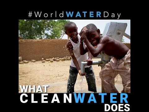 It's World Water Day!