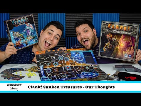 Never Bored Gaming - Our Thoughts (Clank Sunken Treasure)