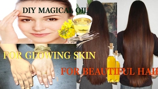 DIY Magical Fairness Oil for Glowing skin and Beautiful Hair