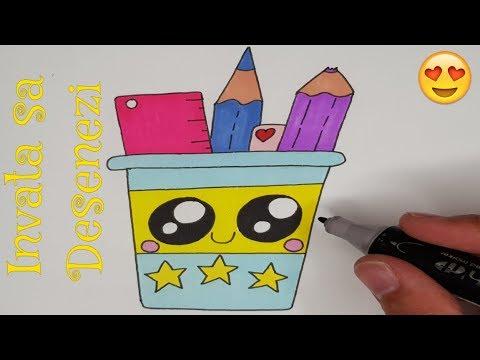 cum să desenezi viermele pentru copii