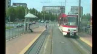 preview picture of video 'Straßenbahn Cottbus linia 4 cz.II'