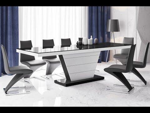 Moderne Einrichtungsideen 2019 Esszimmer Design Esstische ausziehbar mit Synchronauszug