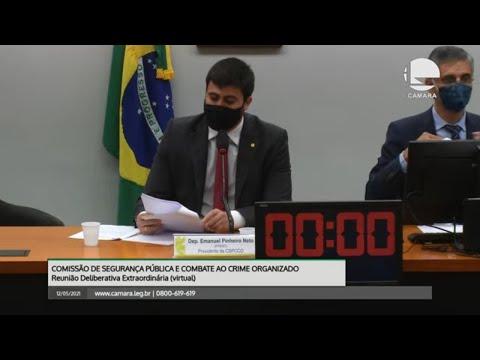 Comissão de Segurança Pública - Discussão e votação de propostas - 12/05/2021