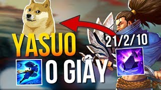Yarder | SET OF BUILD HELP YOU CAN PLAY YASUO SWEEPING BLADE 0S