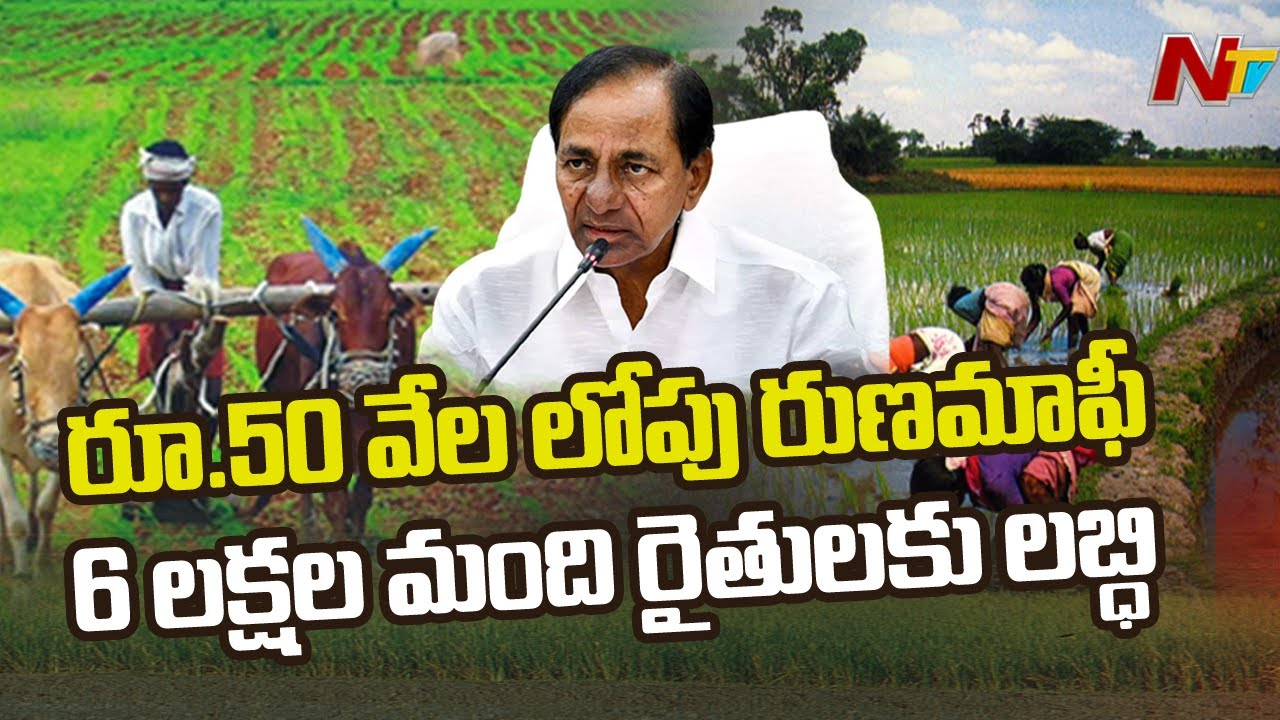 Crop Loans Waiver Upto 50,000: TS Govt to Deposit total up to Recipients from 15th Aug Ntv thumbnail