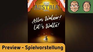 Let's Waltz! - 1. Erweiterung für Grand Austria Hotel  - Brettspiel - Spielvorstellung - Kickstarter