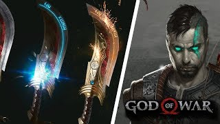 GOD OF WAR 5: HERITAGE - REVEALS ADULT ATREUS, BLADES OF VALHALA | NEW GOD OF WAR FAN ART
