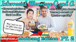 FILIPINO INDIAN COUPLE Q&A | FILIPINO🇵🇭 INDIAN🇮🇳 INTERRACIAL COUPLE | Fayes Diar