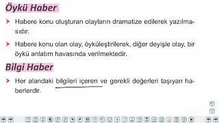 Eğitim Vadisi 10.Sınıf TDE 21.Föy Haber Metninin Genel Özellikleri 2 Konu Anlatım Videoları