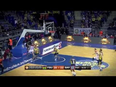 #hatmakers Block of the Night by Nemanja Bjelica, Fenerbahce Ulker Istanbul