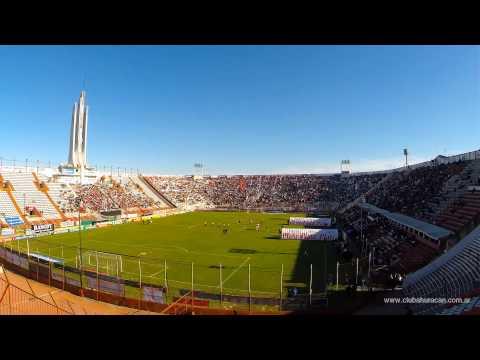 Timelapse Huracán vs. Unión de Santa Fé