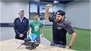 Gambar cover Crush a Diamond with a Hammer? | Dude Perfect