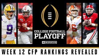 LSU jumps Ohio State for #1 as Clemson and Georgia enter CFP top four | CFP Rankings | CBS Sports HQ