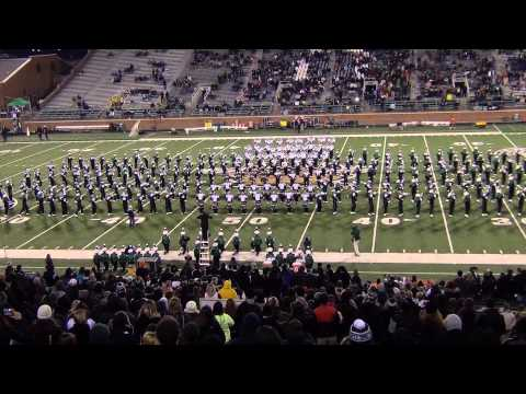 The is the college marching band I auditioned into and played for during college- the Ohio University Marching 110.