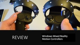Developer Shows Microsoft's VR Controllers in Action