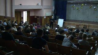 Продовження циклу лекцій в навчальних закладх Олександрії