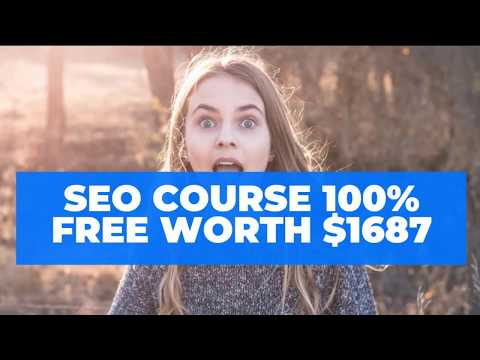 best SEO training premium course online for free worth $1687 ...