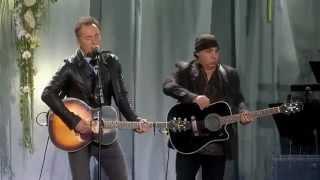 We Shall Overcome Memorial Concert Oslo Norway  Bruce Springsteen & Steve Van Zandt