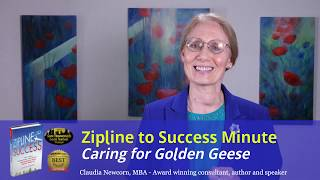 Zipline Minute #10: Caring for Golden Geese