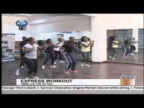 How to keep fit - Morning Express Workout tips 7th Jan 2014
