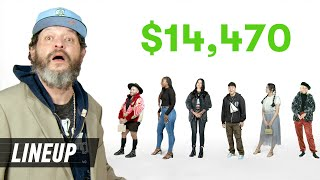 Can a Dad Guess Who's Wearing a $14,000 Outfit? | Lineup | Cut
