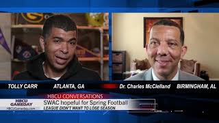 One on One with SWAC Commissioner Dr. Charles McClelland