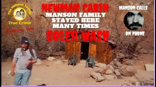 *Charles Manson Family* Spot  Newman Cabin Goler Wash Death Valley