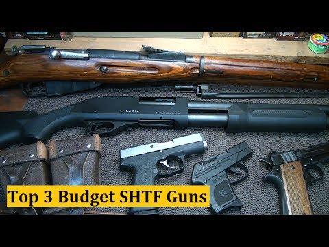 Top 3 SHTF Budget Guns