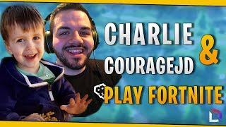 Fortnite - Charlie & CouRageJD Play Fortnite! - October 2018 | DrLupo