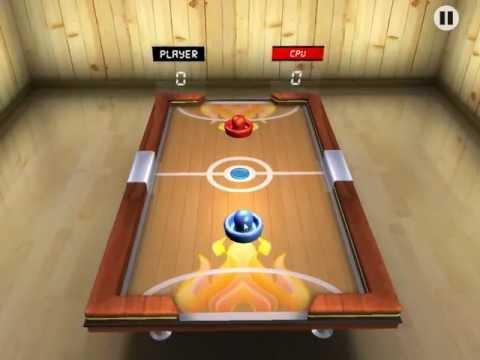 Video of Air Hockey 3D