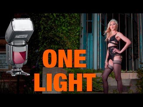 Budget Single Light Portrait Tutorial