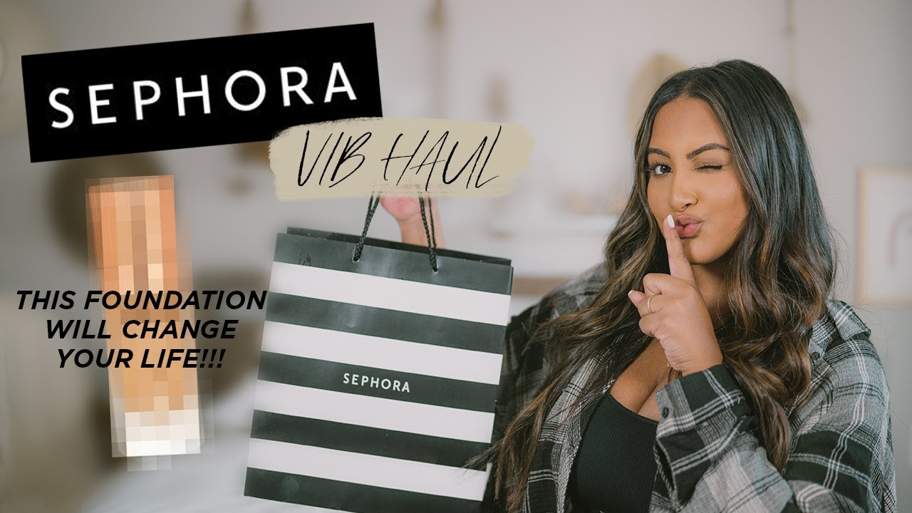 Everyday Makeup Routine + Sephora VIB Sale Picks