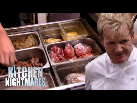 RAW MEAT Kept Next To COOKED MEAT! Kitchen Nightmares