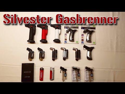 GASBRENNER & FEUERZEUGE für SILVESTER
