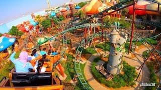 [4K] Smurfs Roller Coaster Ride -  GoPro 7 Black Hypersmooth Setting