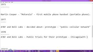 Beginning of Wireless Network | Mobile Computing Chapter 1