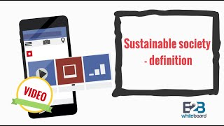 Sustainable society - definition