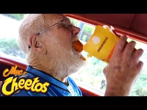 ANGRY GRANDPA STILL HATES BURGER KING MAC N' CHEETOS!