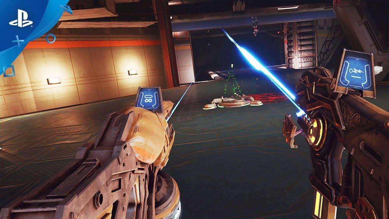 Dai creatori di Detached, lo sparatutto gladiatorio sci-fi Telefrag VR, in arrivo questo mese