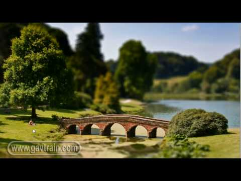 Photoshop | Tilt Shift Effect
