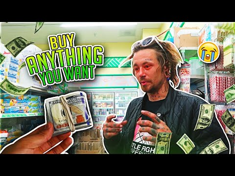 """BUY ANYTHING YOU WANT"" (A Real Homeless Person)"