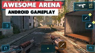 AWESOME ARENA - ANDROID GAMEPLAY ( ULTRA GRAPHICS )