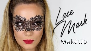 Lace Mask MakeUp Tutorial | Halloween Fancy Dress Masquerade | SnapChat Filter | Shonagh Scott