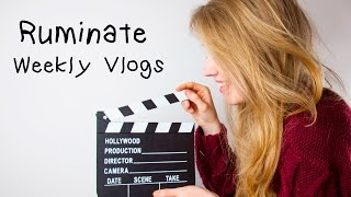 Ruminate Vlogs - A busy week in Lincoln