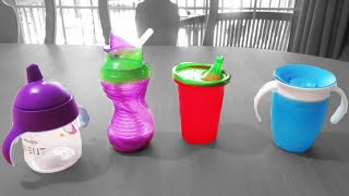 4 SIPPY CUPS: Which one is BEST? 😃